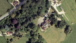 Satellite image of Cleeve House Hotel