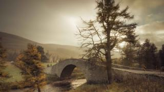 Gairnshiel Bridge in the Cairngorms