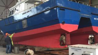 Freight catamaran