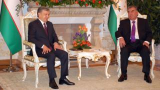 دیدار روسای جمهوری تاجیکستان و ازبکستان برای همکاری با یکدیگر