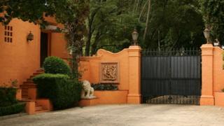 Ворота особняка