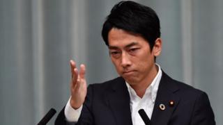 Bộ trưởng Môi trường Nhật Bản Shinjiro Koizumi