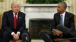 ओबामा ट्रम्प