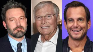 Ben Affleck, Adam West and Will Arnett