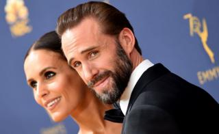 Joseph Fiennes and wife Maria Dolores Dieguez