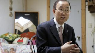 Ban Ki-Moon in an interview, August 2016