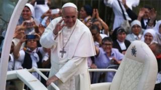 Paparoman ya kai ziyara wasu kasashen yankin Latin America