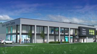 Leisure centre plans
