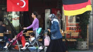 Almanya'da yaşayan Türkiyeliler