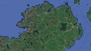 The epicentre is thought to be about 15km north-east from Ballyshannon