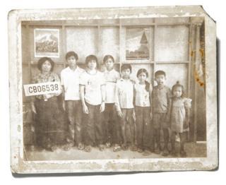At the Chonburi Refugee Camp, Thailand, 1981