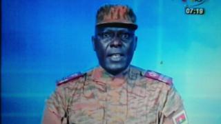Lieutenant-colonel Mamadou Bamba, Burkina Faso