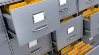 Generic filing cabinet