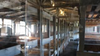 Instalações do antigo campo de concentração de Oranienburg, Alemanha
