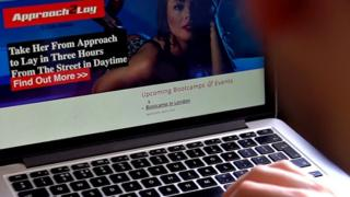 The website of 'Approach 2 lay'