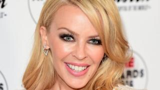 File photo dated 17 February 2016 of Kylie Minogue.