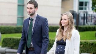Daniel McArthur from the family-run firm Ashers was in court on Monday with his wife Amy to hear the outcome of the appeal