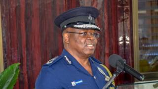 Acting Inspector of General of Police, Samuel Oppong Boanuh talk de press say de girls die