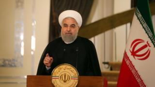 İran Cumhurbaşkaın Hasan Ruhani