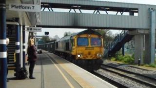 Platform 7, Peterborough station
