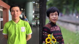 BS Phan Đình Hiệp (trái) và TS Lê Minh Hà (phải)