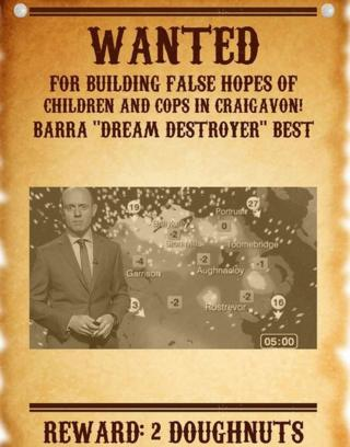 Barra wanted poster