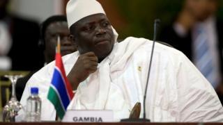 Bwana Jammeh yavuze ko hari ibitagenze neza mu matora y'umukuru w'igihugu