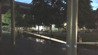 Police cordon on Eldon Square