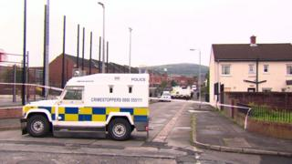 Security alert in Ardoyne area of Belfast