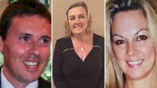 L-R: Jason Aleixo, Lorraine MacLellan, Catherine Gardiner
