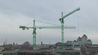Dublin cranes