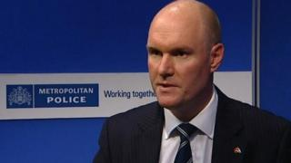Met Police Commander Peter Spindler