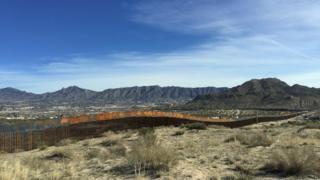 La valla entre Ciudad Juárez y El Paso