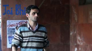 উমর খালিদ, বিতর্কিত ছাত্রনেতা