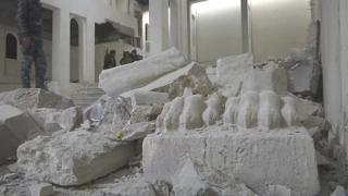القوات العراقية: الآثار التاريخية في المتحف دمرت وجزء منها هرب من طرف تنظيم الدولة الإسلامية