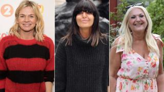 Zoe Ball, Claudia Winkleman and Vanessa Feltz