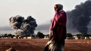 Удар міжнародної антитерористичної коаліції на чолі з США у Сирії