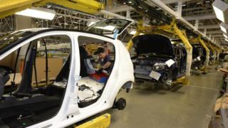Завод по производству автомобилей
