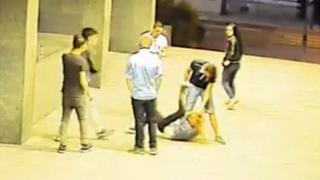 Still from Czech security camera video