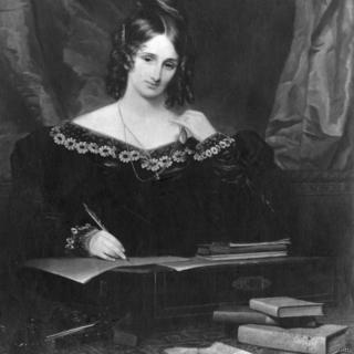 Mary Shelly pencipta tokoh Frankenstein.