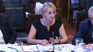 Sue McAllister appeared before Stormont's justice committee over the case of Mr Lynch on Thursday