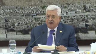 محمود عباس به لغو توافقها با اسرائیل تهدید کرد