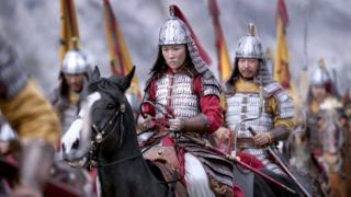 Promotional still from Disney's Mulan