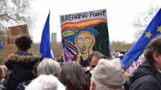 抗议标语牌