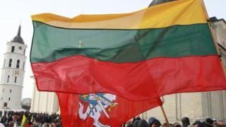 митинг в Вильнюсе