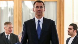 جرمی هانت وزیر خارجه بریتانیا