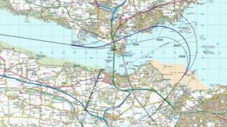 Proposed flight path E7a