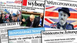 Brexit: Europe press sigh over 'unbelievably dragging process'