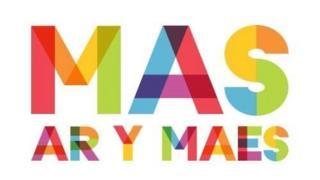 Logo rhaglen Mas ar y Maes