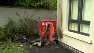 North Belfast arson